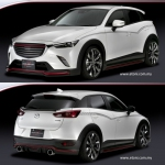 Mazda CX-3 Body kit by Silkblaze