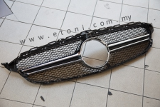 Mercedes Benz C class W205 AMG front grille