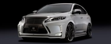 Toyota Harrier 2015 Body kit SilkBlaze Glanzen