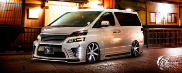 Toyota Vellfire body kit Glanzen Yoroi ( original from Japan )