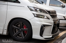 SilkBlaze Glanzen Toyota Vellfire body kit