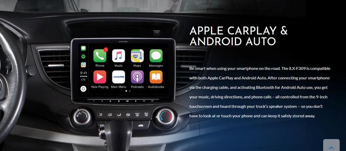 Alpine Halo 9 Car Player Automotive Accessories