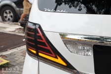 Alphard / Vellfire LED taillamp by Valenti Japan